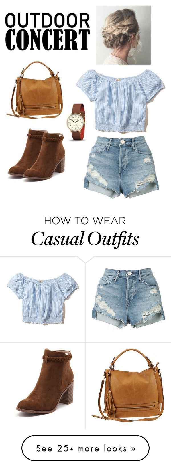 """concert country casual"" by enemoto16 on Polyvore featuring Hollister Co., Urban Expressions, 3x1, Newgate, Billini, country, 60secondstyle and outdoorconcerts"