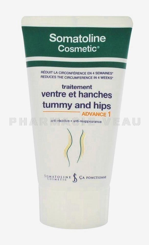 SOMATOLINE Cosmetic Traitement Ventre et Hanches ADVANCE 1 Tube de 250ml