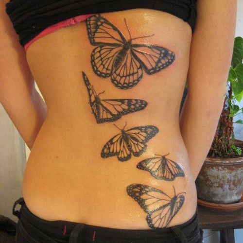 187 best butterfly tattoos images on pinterest - Les plus beaux tatouages femme ...