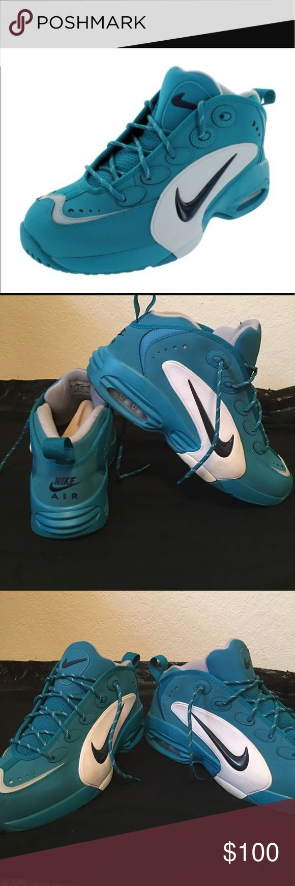 Nike Men's Air Way Up Retro Basketball Shoes. Used. No box. Good condition Nike Shoes Sneakers