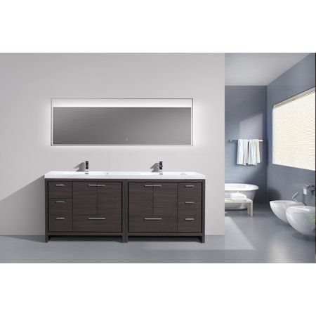 Dolce Series 84 Inch Free Standing Double Sink Bathroom Vanity Bathroom Sink Vanity Double Sink Bathroom Bathroom Vanity Base
