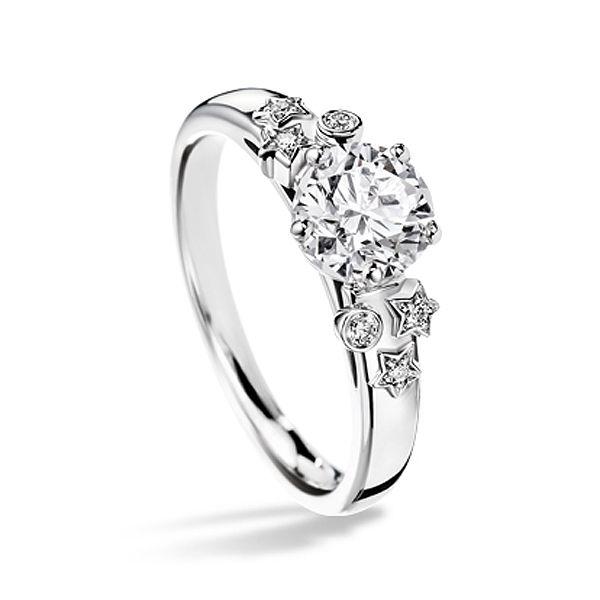 輝きのあるコメットモチーフ! *エンゲージリング 婚約指輪・シャネル*