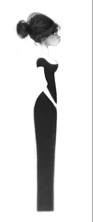 Like the use of negative space and love the hair! - http://2.bp.blogspot.com/-A_HKkHI3QuI/UGoBjQ5EhYI/AAAAAAAAA-U/hReEjILCSqs/s1600/girlsmall3.jpg