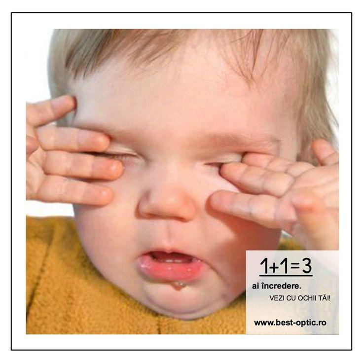 Majoritatea copiilor se freacă la ochi atunci când sunt obosiți sau le este somn. Dacă fac acest gest foarte des, este un semn clar de o oboseală a ochilor, indusă cel mai probabil de efortul pe care copilul îl face pentru a compensa deficitul de vedere. Nu amâna controlul optometric al familiei! #bestoptic #ochisanatosi #familie #decembrie