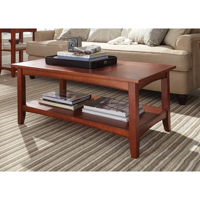 Alcott Hill Bel Air Coffee Table Finish: Cherry