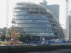 London City Hall Construction
