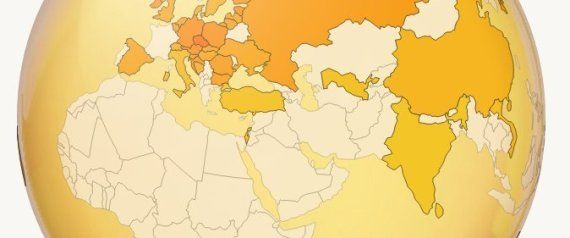 How Much Beer The World Drinks, In 1 Interactive Globe