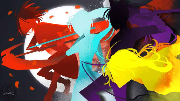 World of Remnant style RWBY Poster by lightning-in-my-hand.deviantart.com on @DeviantArt