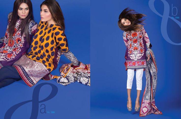 17 besten Sana Safinaz Lawn Bilder auf Pinterest | Modedesigner ...