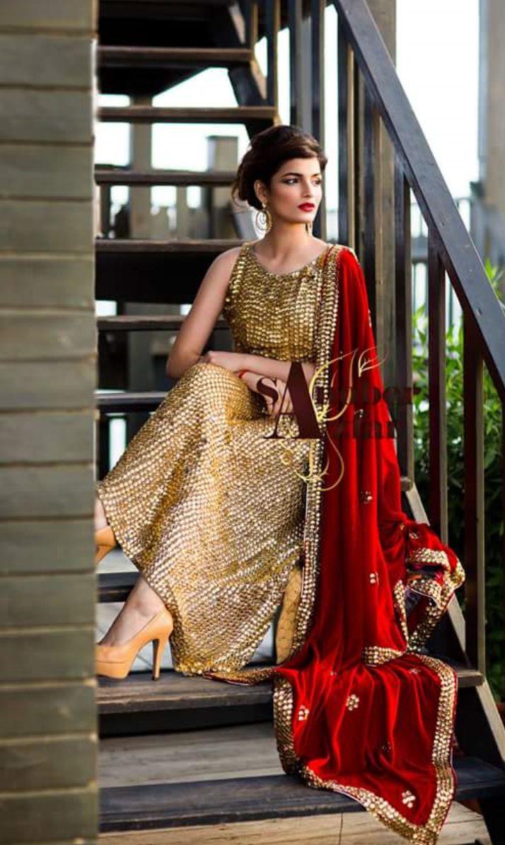 Sanober Azfar dress #bridal #bling