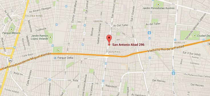 Encuéntranos en San Antonio Abad # 296 B  Col. Ampliación Asturias . Del. Cuauhtémoc. Mexico D.F  http://www.abortolegal.mx/ubicacion/
