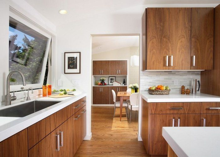 Beautiful Mid Century Modern Kitchen Design Ideas Photos ...