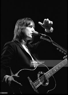 Todd Rundgren performing at The Venue, London, UK on 25 May 1982.