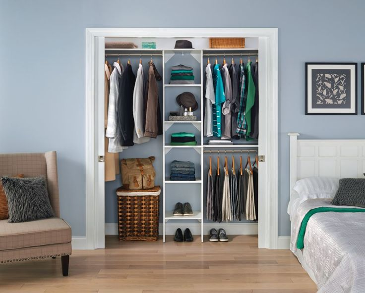 A charming cohesive closet made simple with the right organization shop closetmaid suitesymphony