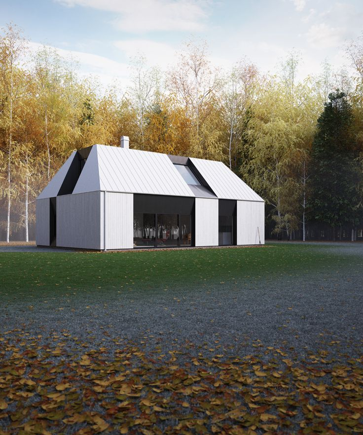 TIND 2 prefab house by Claesson Koivisto Rune