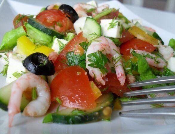 """Салат """"Легкость""""   Empanada.RU"""