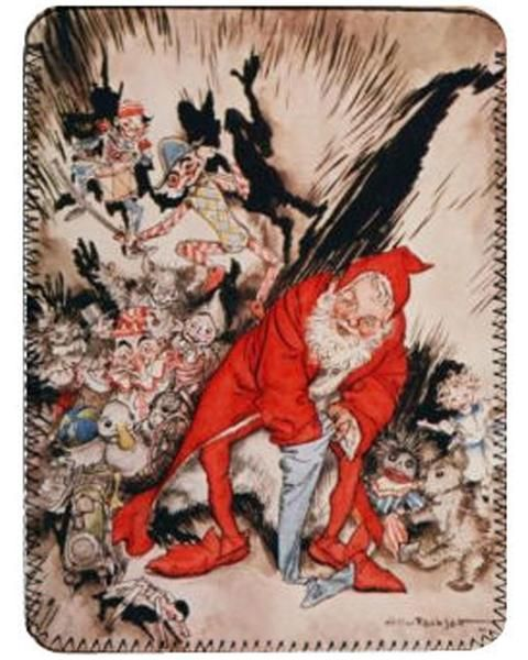 Fabulous iPad cover featuring an illustration from The Night Before Christmas by Arthur Rackham. Fits original iPad or tablets sized approx 16x23cm.