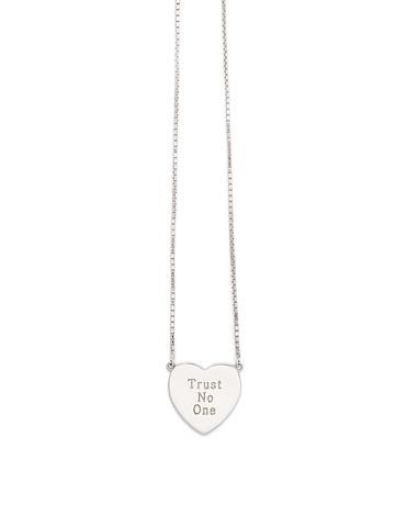 Hope Necklace Silver