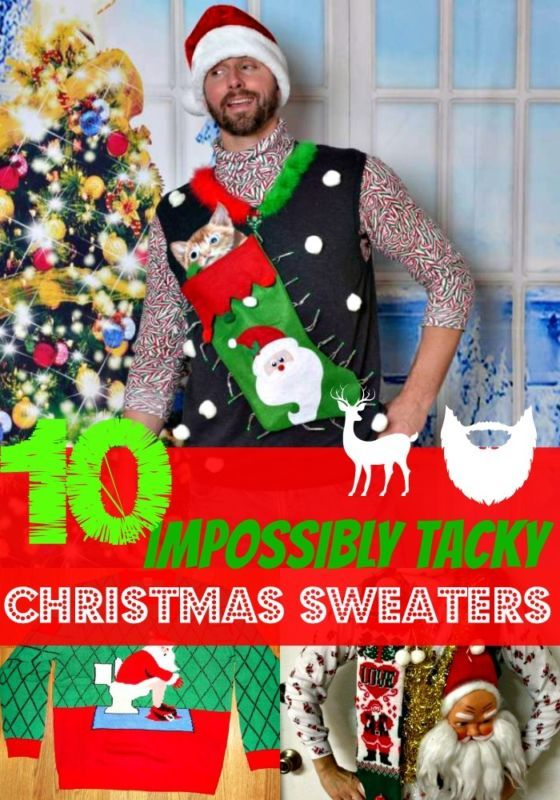 10 Impossibly Tacky Christmas Sweaters | eBay