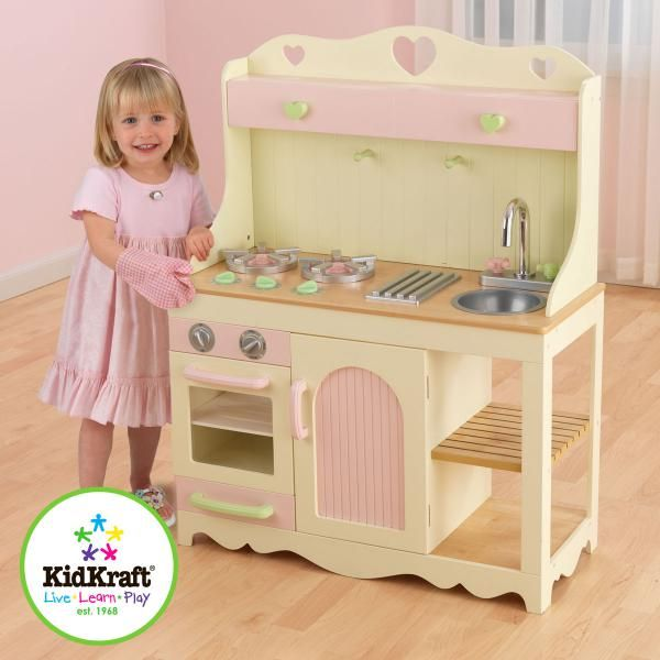 161 best playhouse ideas images on pinterest pink play for Playhouse kitchen ideas