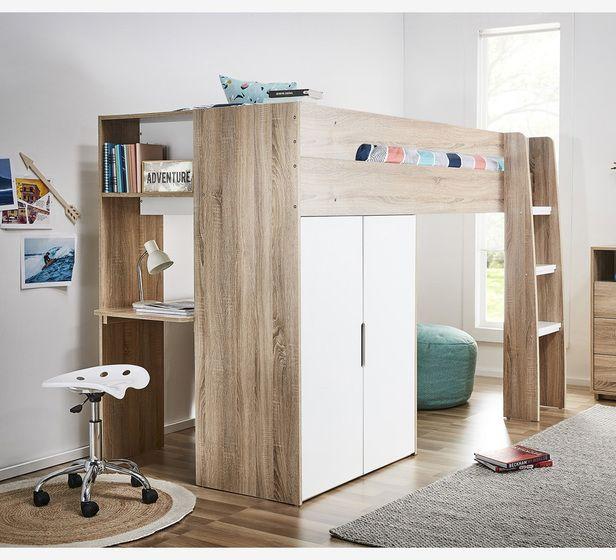 buy online 51691 af688 Cabin King Single Loft Bed | Fantastic Furniture | Kids beds ...