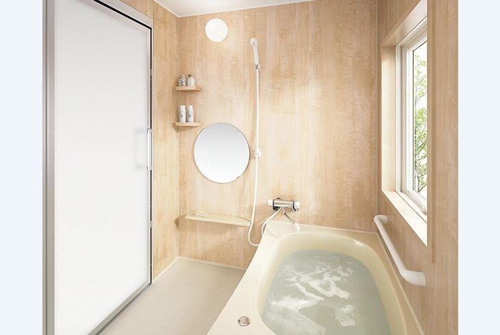 BGF/1216サイズ(0.75坪) | セットプラン | プラン | Oflora(オフローラ) | システムバスルーム・浴室関連商品 | Panasonic