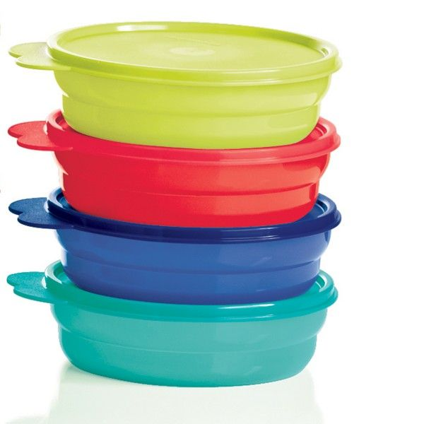 Set of 4 Tupperware Refrigerator and Storage Bowl 500 ml each bowl Fast Shipping