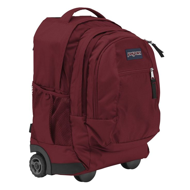 JanSport Driver 8 Wheeled 15-in. Laptop Backpack, Red