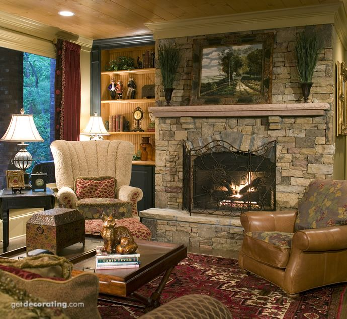 Cozy Rustic Living Room Fireplaces: 1000+ Ideas About Cozy Family Rooms On Pinterest