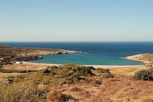 The beach of Ateni