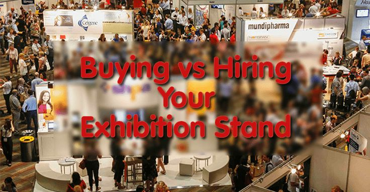 Learn the advantages of buying vs hiring an exhibition stand, and find out which option is most appropriate for you. > http://bit.ly/2go54e5
