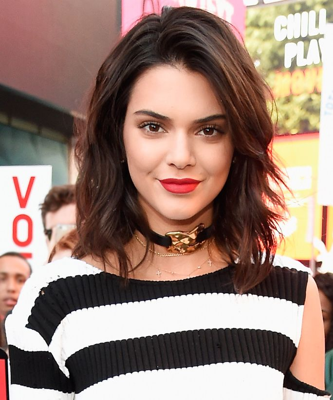 Kendall Jenner Has a New Inner Lip Tattoo from InStyle.com