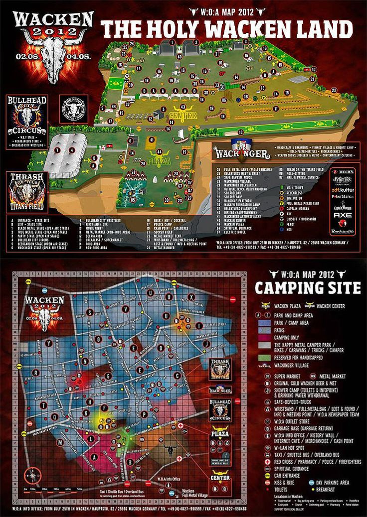 wacken 2013 | Festival Area - some day i'm gonna make it there!