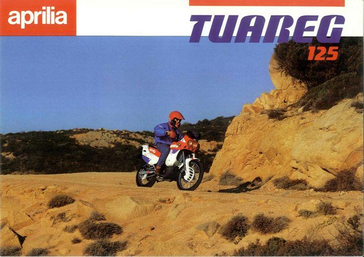 Vintage Brochures: Aprilia Tuareg Wind 125 1989 (Italy)