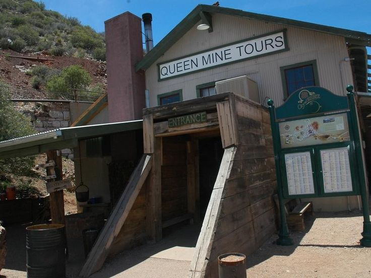 Mine Tours Queen Mine Tour, Bisbee, AZ.For a hundred
