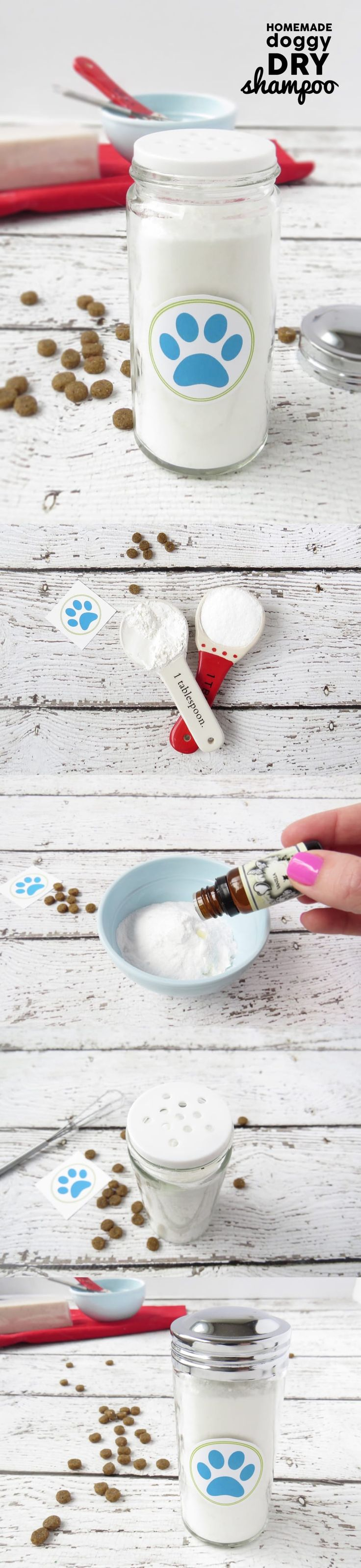 Dry shampoo isn't just for humans anymore — this homemade dog version is a game-changer