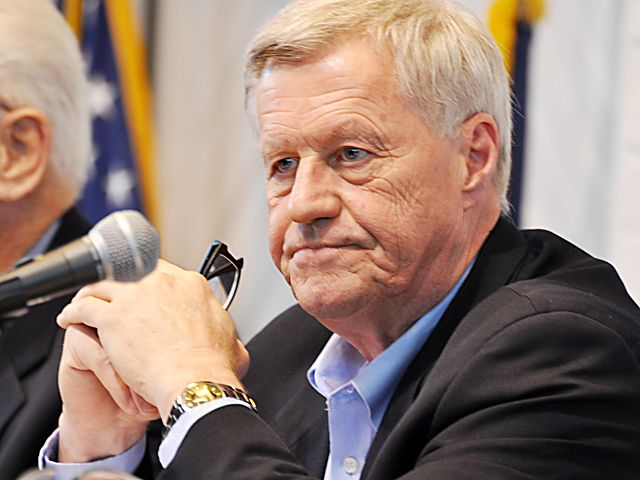 Rep. Collin Peterson, D-Minn., spoke to members of the crop insurance industry Monday about the prospects for the next farm bill. (DTN file photo)