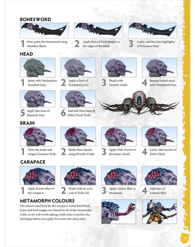 How To Paint Genestealer Cults: Digital Edition - Spikey Bits