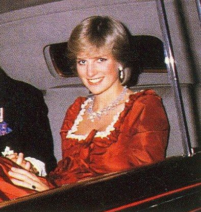 March 4, 1982: Princess Diana attends a gala performance on second night of celebrations for the opening of the Barbican Arts Centre.
