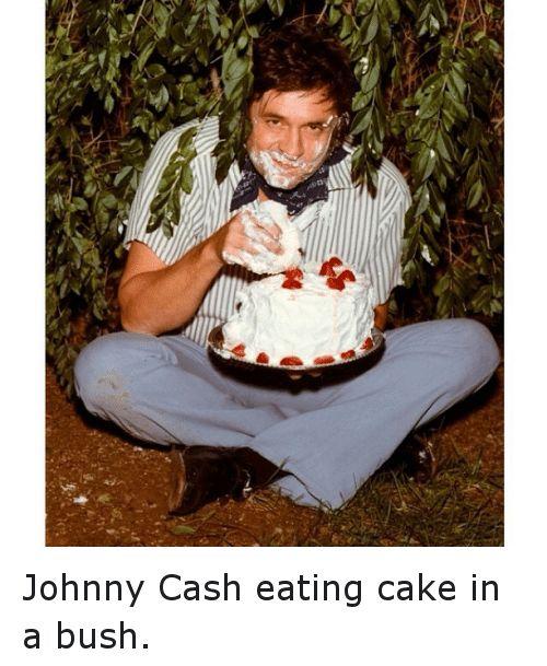 Image result for johnny cash cake