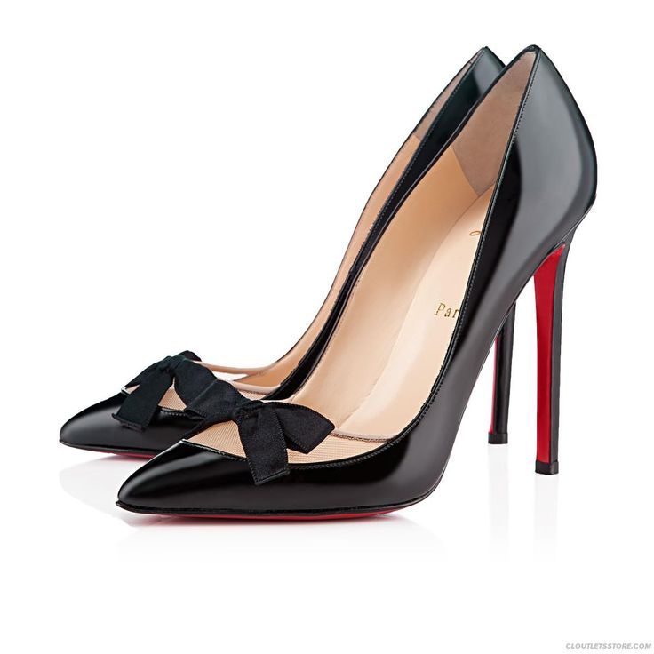 Sexy Love Me 120mm Black Patent Leather | Fake Louboutin Shoes Sale Uk