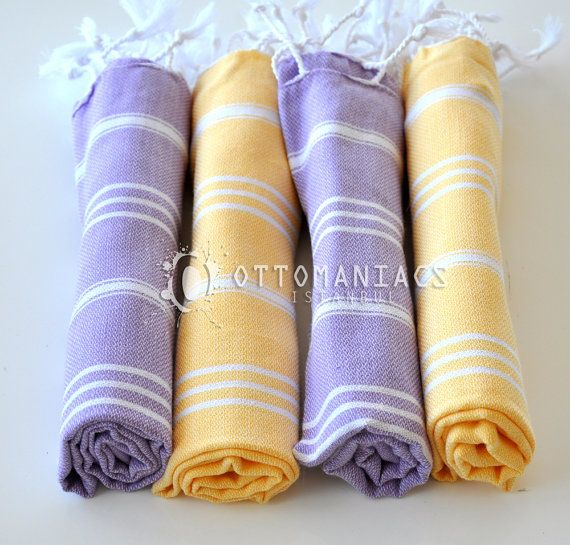 Kitchen Towel Set  4 Pcs Family Towels Gift for by Ottomaniacs
