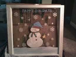 Image result for old windows painted holiday