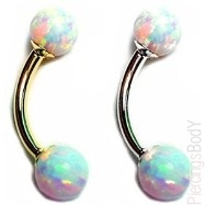 Opal barbell, but I need a it for a tongue ring