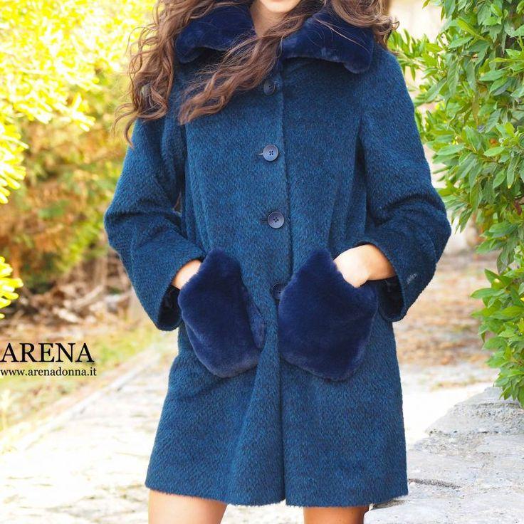 Arenadonna.it ad Altamura #coat #moda #women #madeinitaly #fashion #style
