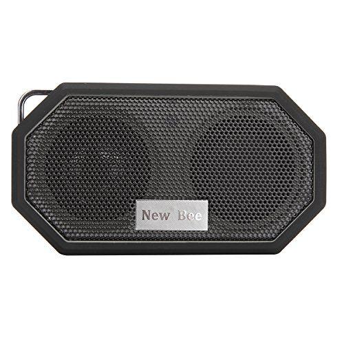 Myguru pocket Enceintes portable sans fil Bluetooth4.0 étanche Mini Portable avec Voix Claire Haut-parleurs(Noir)