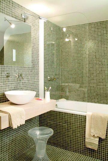 Carrelage salle de bains, mosaïque salle de bains  6 photos pour
