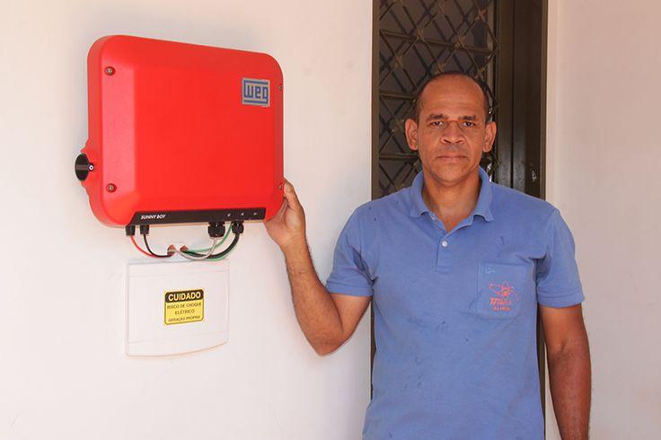 Eletrotécnico Alírio Macedo consegue zerar o seu custo de energia elétrica em sua casa