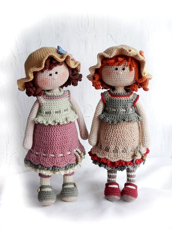 Amigurumi Crochet Doll Pattern Pdf For Toy Making Dorothy The