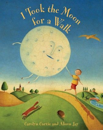 One of my favorite #bedtimestories with illustrated notes about the phases of the moon & nocturnal animals at the end.